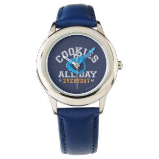 毎日クッキーモンスター 腕時計