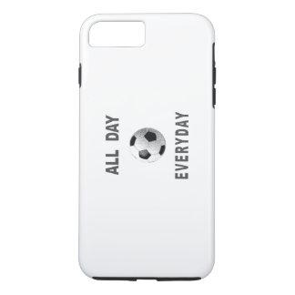 毎日サッカー1日中 iPhone 8 PLUS/7 PLUSケース