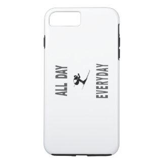 毎日スキー1日中 iPhone 8 PLUS/7 PLUSケース