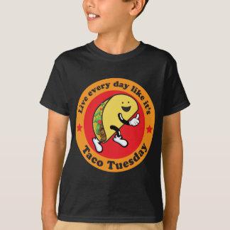 毎日タコス火曜日 Tシャツ