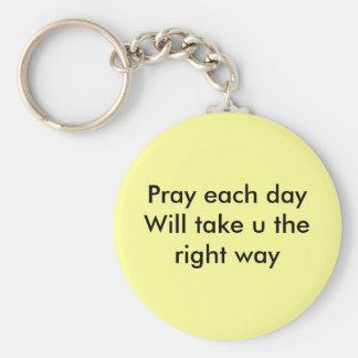毎日取りますuに右の方法を祈って下さい(カトリック教) キーホルダー