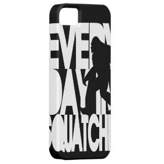 毎日私は白黒Squatchinです iPhone SE/5/5s ケース