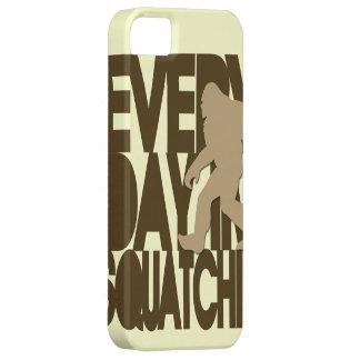 毎日私はSquatchinの日焼けおよび茶色です iPhone SE/5/5s ケース