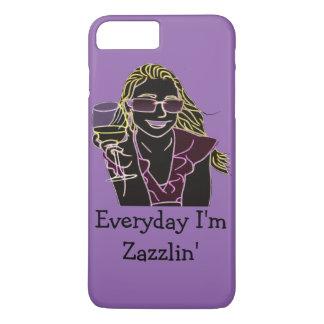 毎日私はZazzlinです iPhone 8 Plus/7 Plusケース
