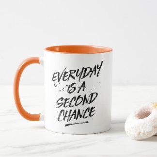 毎日第2のチャンスのコーヒー・マグはです マグカップ