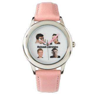 毎日腕時計のビンゴのヘアスタイル 腕時計