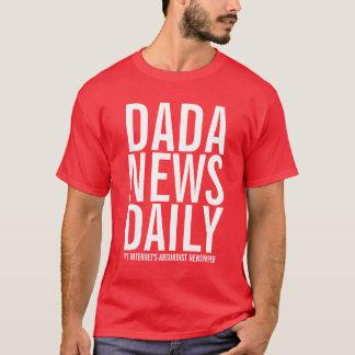 毎日Dadaのニュース Tシャツ