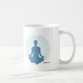 """毎日WORD®の""""内部の平和""""マグ コーヒーマグカップ"""