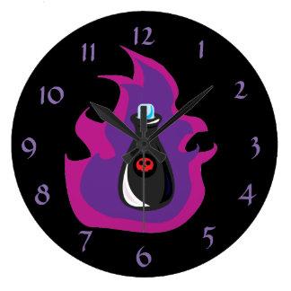 毒ボトルの時計 ラージ壁時計
