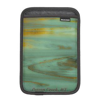毒入り江のワイオミングの抽象的な写真撮影のデザイン iPad MINIスリーブ