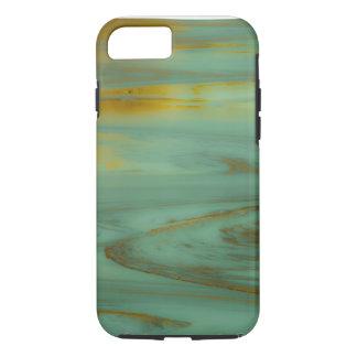 毒入り江のワイオミングの抽象的な写真撮影のデザイン iPhone 8/7ケース