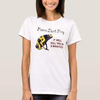 毒投げ矢のカエル Tシャツ