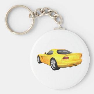毒蛇懸命トップの筋肉車: 黄色い終わり: キーホルダー