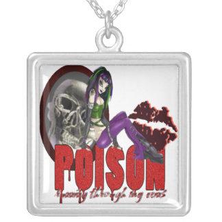 毒-ネックレス シルバープレートネックレス