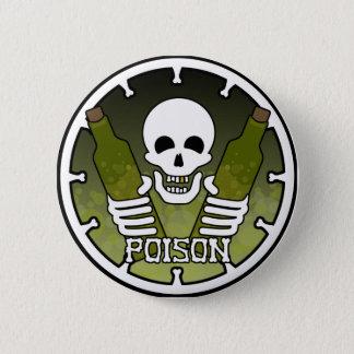 """""""毒""""ボタン 5.7CM 丸型バッジ"""