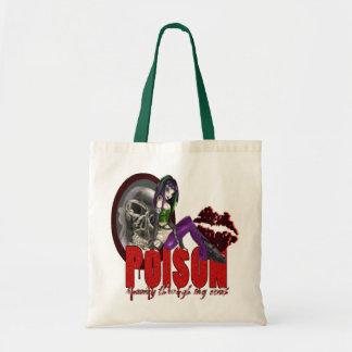 毒-予算のトート トートバッグ
