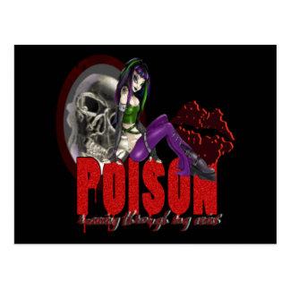 毒-郵便はがき ポストカード