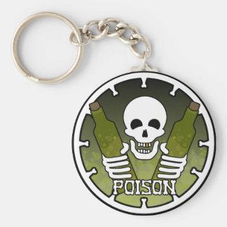 """""""毒"""" Keychain キーホルダー"""