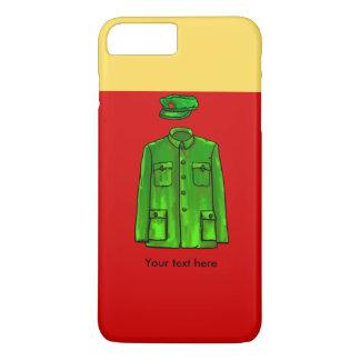 毛沢東の議長の毛のコート iPhone 8 PLUS/7 PLUSケース
