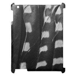 毛深いキツツキの羽 iPad カバー