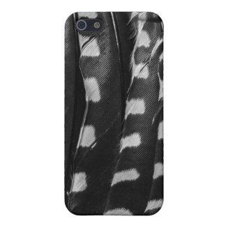 毛深いキツツキの羽 iPhone 5 ケース