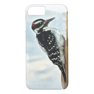 毛深いキツツキの鳥のiPhone 7の場合 iPhone 8/7ケース