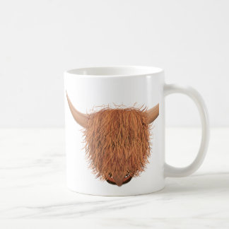 毛深い高地牛マグ コーヒーマグカップ