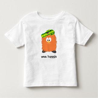 毛深いHaggis トドラーTシャツ