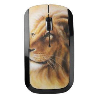 毛皮で覆われたライオン ワイヤレスマウス