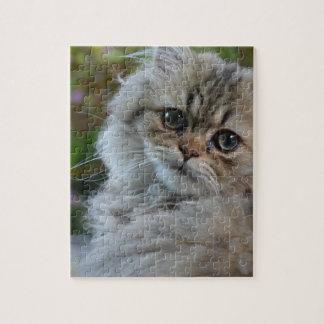 毛皮で覆われた猫 ジグソーパズル