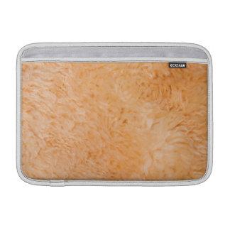 毛皮で覆われた質 MacBook スリーブ