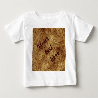 毛皮のコレクション-シャギーな毛皮 ベビーTシャツ