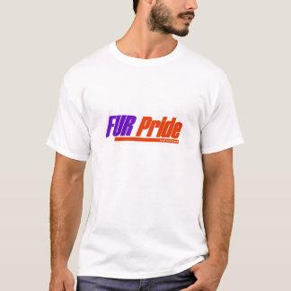 毛皮のプライド Tシャツ