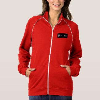 毛皮のベビー猿のデザインの女性トラックジャケット ジャケット