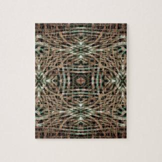 毛皮の質の抽象芸術パターン ジグソーパズル