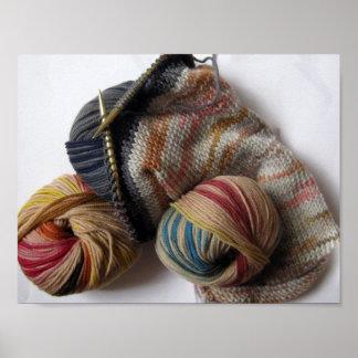 毛糸と編むこと ポスター