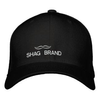 毛羽織りのブランドによって刺繍される帽子 刺繍入りキャップ