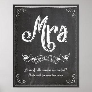 氏および夫人シリーズからの夫人 ポスター