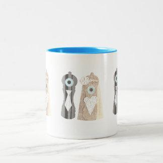 氏およびSalt n夫人のコショウのマグ ツートーンマグカップ