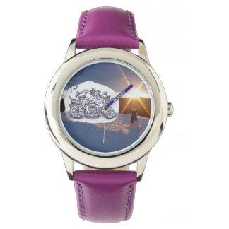 氏とのSnowman旅行 腕時計