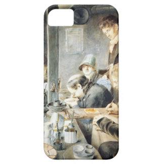 氏のバックスター、Stree第1金細工人絵画部屋 iPhone SE/5/5s ケース