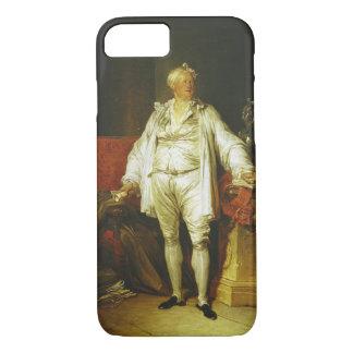 氏のBergeret de Grancourt (1715-8年ポートレート iPhone 8/7ケース