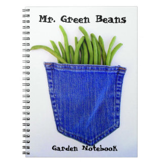 氏インゲンの庭のノート ノートブック