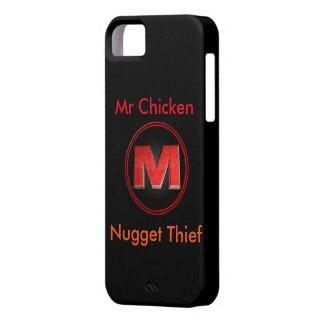 氏チキン・ナゲットの盗人のIの電話5/5s箱 iPhone SE/5/5s ケース