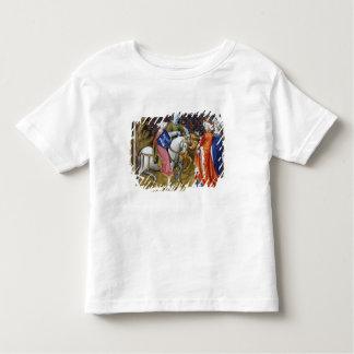 氏フレーム120 Guinevereに会う湖の女性 トドラーTシャツ