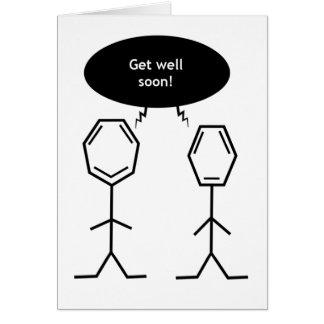氏ベンゼンは健康なカードをすぐに得ます グリーティングカード
