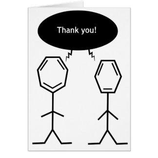 氏ベンゼンは感謝していしています! カード