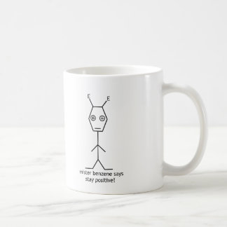氏ベンゼン滞在の陽性のマグ コーヒーマグカップ