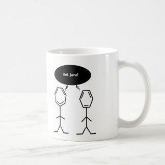 氏ベンゼン熱いジャワのマグ コーヒーマグカップ