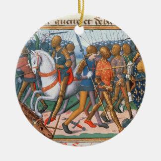 氏Fr 5054 f.11 Agincourt 1415年の戦い、のために セラミックオーナメント